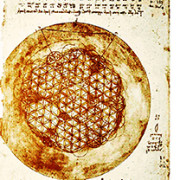 "Da Vinci's ""Flower of Life"""