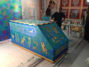 Hand Painted Samadhi Tank