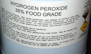 H2O2 35% Food Grade Hydrogen Peroxide-Biohack Tool #1
